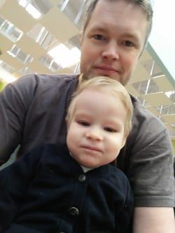 Martin og søn - ejer af Sitontop.dk